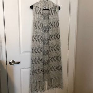 BB DAKOTA sleeveless knit cardigan
